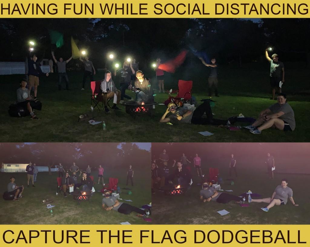 capture the Flag Dodgeball