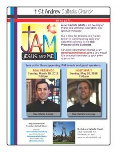 JAM flyer 2018
